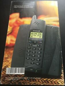 Ericsson 260 Cordless Phone User's Guide/Instruction Manual