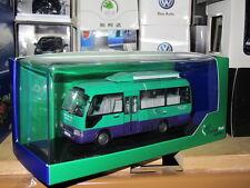 Toyota coaster Hong Kong mobile post office bus tiny model car 1/43 free ship