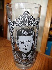 JFK - John F. Kennedy - Inaugural - Collectible Drinking Glass