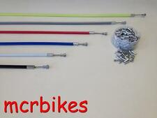 QUALITY ROAD BIKE BRAKE CABLE & HOUSING FRONT & REAR COMPLETE+ *FREE END CRIMP*