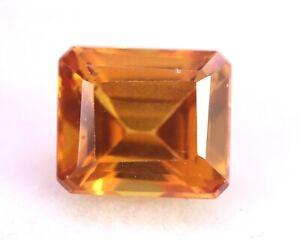 Rare Natural Orange Painite 4.90 Ct AAA+ Certified Square Cut Loose Gemstone