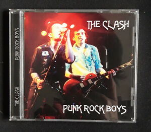 The Clash Punk Rock Boys CD (Live Us Festival 1983 punk Joe Strummer Mick Jones)