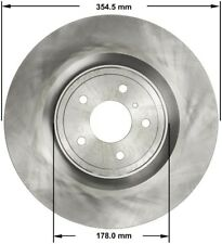 Disc Brake Rotor-AWD Front Bendix PRT5814