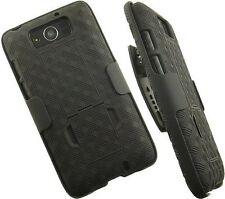 New Black Belt Clip Case Shell Holster + Stand for MOTOROLA DROID MAXX XT1080M