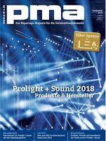 Prolight + Sonido 2018 - Productos y Fabricante en el Pma Edición Especial