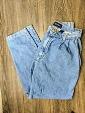 Women's mom high waist tapered jeans size 8 Vtg