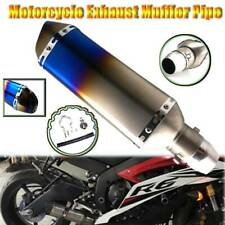 Motorcycles Dirt Bike Exhaust Muffler Slip On Removable For Yamaha YZF R3 2015
