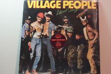 Village People-Live And Sleazy~2 Lp~Sealed Nos w/Hype~1979~g'fold Cover~M/Nm