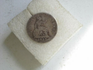 1837 WILLIAM IV GROAT COIN HIGH SILVER GOOD CONDITION FOR AGE