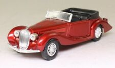 SOLIDO AGE D'OR 78 'DELAHAYE 135M 1939' METALLIC RED, ROOF DOWN. 1:43. (C)