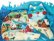 Wooden Jigsaw puzzle DaVICI Winter 180 pcs Artist Oksana Stutter NEW