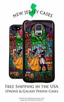 Disney Stained Glass Beauty and the Beast Dance Scene iPhone & Galaxy Case