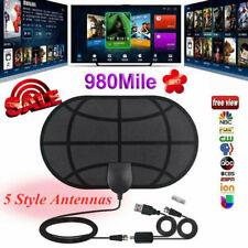 980 Mile Range Antenna TV Digital HD HDTV 1080P 4K Antena with Signal Booyu