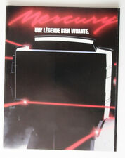 MERCURY Outboards 1986 dealer brochure - French - Canada - ST2003000418