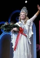 OLD PHOTO Miss Universe Beauty Contest Winner 1984 Yvonne Ryding Sweden 3