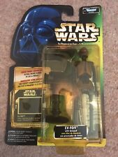 Star Wars POTF EV-9D9, Freeze Frame Green Card Figure 1997 European