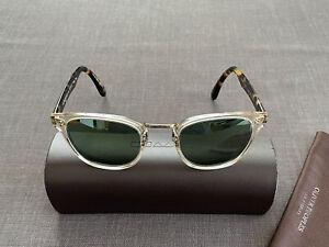 OLIVER PEOPLES Lerner Vintage Glass Sonnenbrille (crystal tortoise OV5369S 1626)