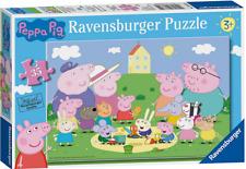 Puzzle Jigsaw Kids 35 Piece Kids Storage Toys Peppa Pig Birthday Christmas Gift
