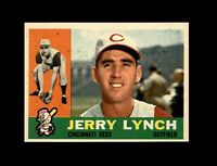 1960 Topps Baseball #198 Jerry Lynch (Reds) NM  #AAB123