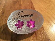SUCCESS (HAND MADE WITH REAL ORCHID)