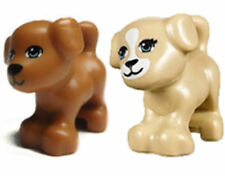 2X Lego Animal DOG for the zoo forest