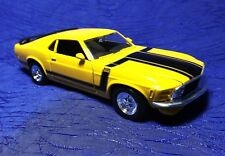 '70 Boss 302 Mustang 1/24 Maisto Die Cast