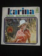 """Karina - La fiesta 7""""  single vinilo"""