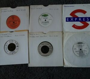 "Various "" House"" singles Bundle of 6 Vinyl  7"" Singles"
