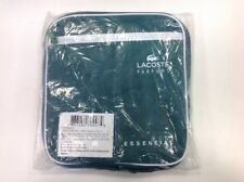 Lacoste Parfums ESSENTIAL Compact Duffle Bag For Men Green & White Brand New