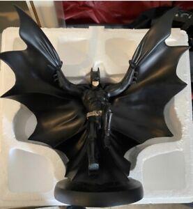 "DC Direct Batman Begins in Flight Statue 11"" x 8.5"" x 5.5"""
