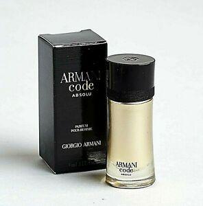 Armani Code ABSOLU 4 ml Eau de Parfum Miniatur Neu & Ovp 4ml EdP Giorgio Homme