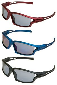 ACCLAIM A1 3 Pairs Cycling Sunglasses Sportsglasses Plastic Frame Polycarbonate
