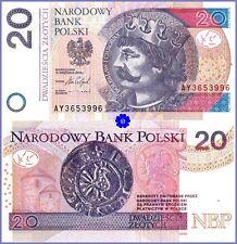 POLAND 20 ZLOTYCH 15.09.2016(2017) P-184b *AY* UNC Banknote