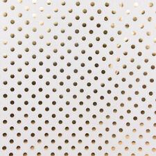 Deko-Stoff Vorhangstoff Polsterstoff Glamis Punkte Schwarz Meterware 280 cm br