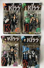KISS Ultra-Action Figures McFarlane Toys Set of 4 -Ace~ Gene~ Peter~ Paul -1997