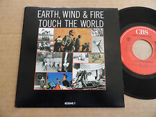 """DISQUE 45T DE EARTH WIND AND FIRE  """" TOUCH THE WORLD """""""