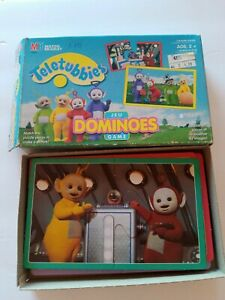 Teletubbies Dominoes Game Milton Bradley Domino Cards
