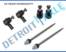 New 6pc Front Inner & Outer Tie Rod Ends + Lower Ball Joints for Honda Element