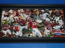 ALABAMA TIDE 2010 NATIONAL CHAMPIONSHIP CANVAS PRINT PICTURE - BRAND NEW!