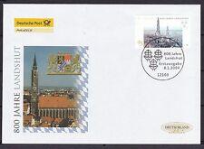 Echte Briefmarken aus Deutschland (ab 1945) mit Ersttagsbrief für Geschichte
