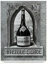 ▬► PUBLICITE ADVERTISING AD Vieille Cure Liqueur 1932