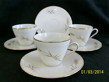 Z & Co. Tirschenreuth Bavaria Cups (3) and Saucers (6)