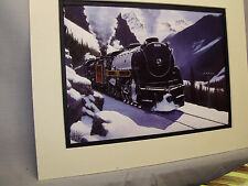 Canadian Pacific the Dominion Steam  by artist Railroad Archives Museum Art HD