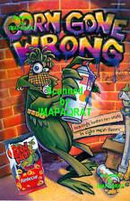 Corn Nuts: BBQ: Corn Gone Wrong: Graffiti Tag Print Ad