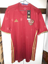 **Adidas Authentic Soccer Football Russia 2016-17 Jersey Shirt Fans Home L