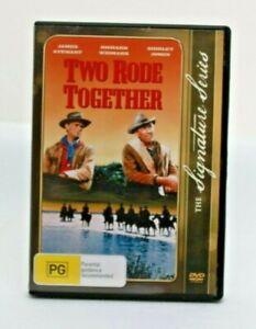 TWO RODE TOGETHER DVD 1961 Western James Stewart Richard Widmark Free post