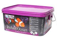 INSTANT OCEAN 8 Kg sale marino 240 LITRI ACQUA SALATA ACQUARIO MARINO