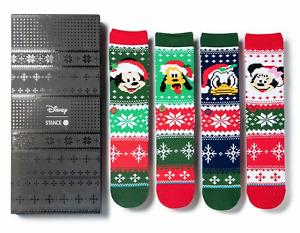 Stance Disney Claus Crew Socks Box Set.....MICKEY, PLUTO, DONALD, MINNIE
