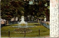 Vintage Postcard New Port Rhode Island Perry's Monument Washington Square