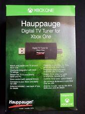 Hauppauge - Digital USB TV Tuner for Xbox One - Black w/ Mohu Leaf Ant